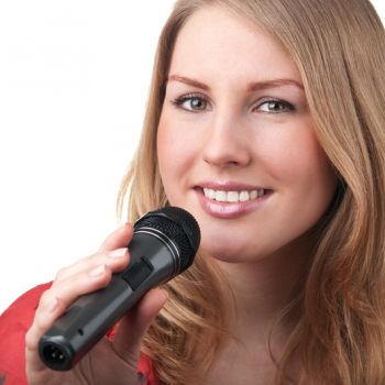 http://www.dreamstime.com/stock-photo-woman-singing-microphone-image25870800